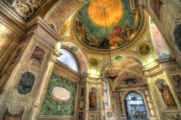 Basillica di San Giustina Interior, Padova, Italy