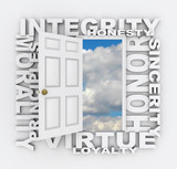Integrity Words Door Opens for Honor Principles