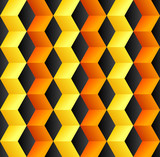 Fototapety Abstract cube colorful background
