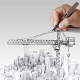 Fototapety  building development concept