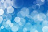 Blue Bubbles background Flarium, white bubbles - 42183969
