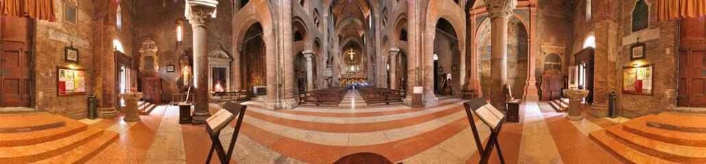 Modena, interno duomo a 360 gradi
