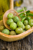 Frische Oliven