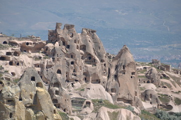 Cappadocia, Turkey. Goreme open air museum