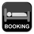 Glossy Button schwarz - Online Booking