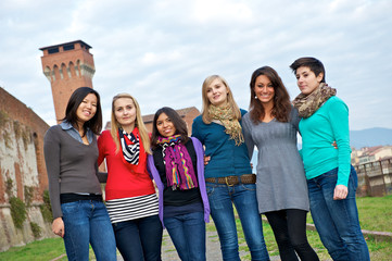 Multicultural Group of Woman