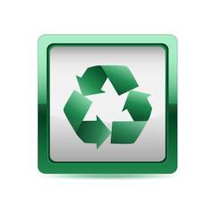 Botón cuadrado verde