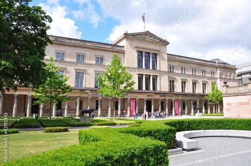 Staande foto Berlijn Neues Museum in Berlin