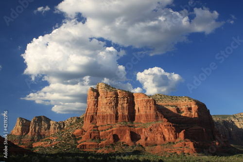 Couthouse Butte In Sedona