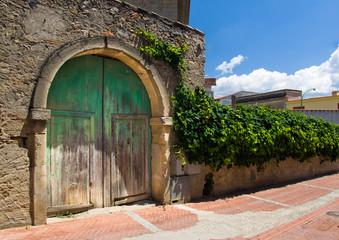 Sardegna, Campidano - vecchio portico
