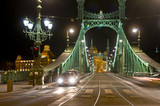 The Freedem bridge in Budapest