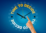 Time to decide poster