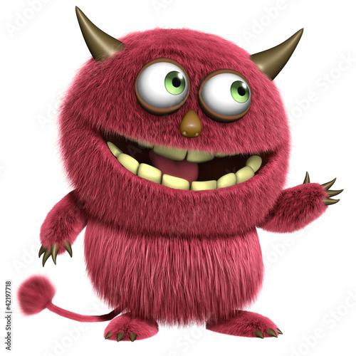 Fotobehang Sweet Monsters monster