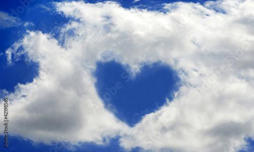 Fototapeten,liebe,himmel,luft,blau