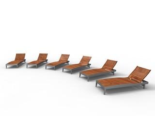 summer deckchair