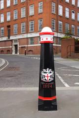London street pole