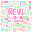 New fashion collections design template