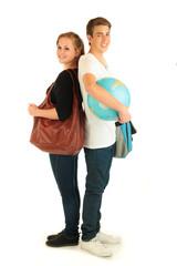 Studenten mit Globus 5.12
