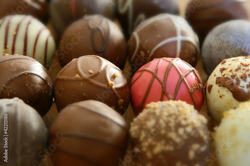 Canvas Snoepjes Chocolate Truffles