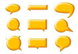 Bocadillos amarillos poster