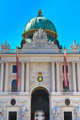 Vienna Hofburg Imperial Palace Entrance