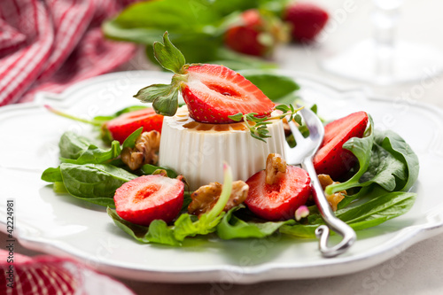 Goat Cheese and Strawberry