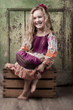 Similing little girl