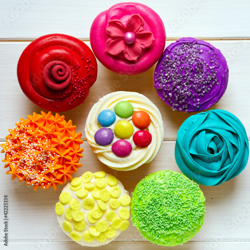 Fridge magnet Cupcakes
