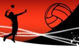 Fototapete Athlet - Sportlich - Hintergrund
