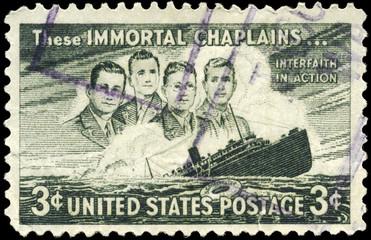 USA - CIRCA 1948 Four Chaplains