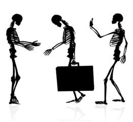 Squelette viré