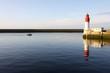 phare et port du guilvinec,bretagne