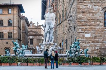 Neptune, Palazzo Vecchio