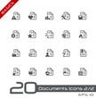 Documents Icons - Set 2 of 2 // Basics