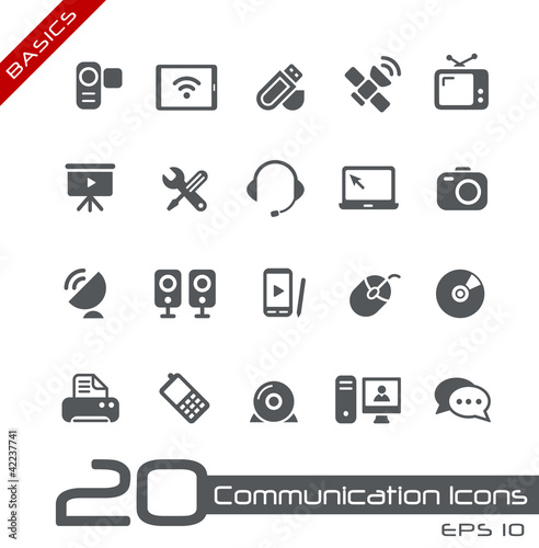 Communication Icons // Basics
