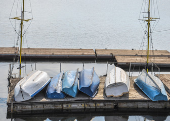 boats on the dock