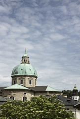 dome of salzburg cathedral