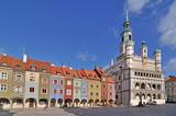 Fototapety Market square, Poznan, Poland