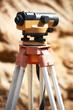 surveyor equipment outdoors