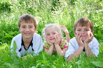 Kinderfreundschaft- eins zwei drei