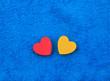 colourful hearts