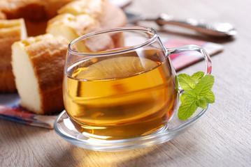 tazza di tè a colazione
