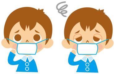 風邪予防/マスク