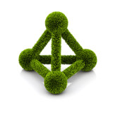 symbol of ecological atom