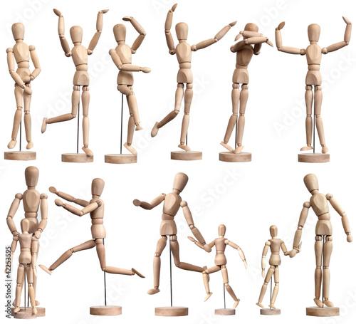 Wooden Mannequins