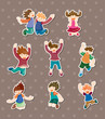 child jump stickers