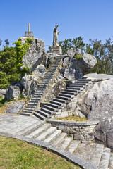 Monumento al Corazón de Jesús en la Illa de Arousa, Pontevedra