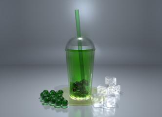 Green Bubble Tee