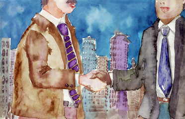 metropolitan handshake