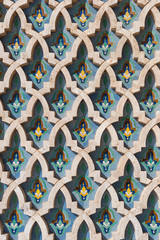 Arabic islam wall texture Casablanca Morocco